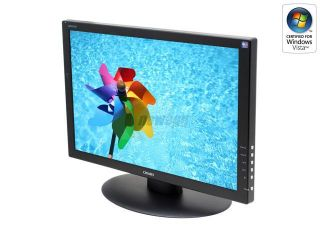 "CHIMEI CMV 221D Black 22"" 5ms DVI Widescreen LCD Monitor 330 cd/m2 800:1"
