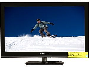 "Refurbished Proscan 24"" 1080p 60Hz LED LCD HDTV   PLED2435A"