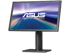 "ASUS PB Series PB238Q Black 23"" 6ms (GTG) HDMI Widescreen LCD Monitor 250 cd/m2 ASCR 80,000,000:1 Built in Speakers IPS panel, Height, Pivot and Swivel adjustable"