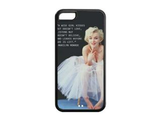 Marilyn Monroe Quotes 02 Back Cover Case for iPhone 5C TPU
