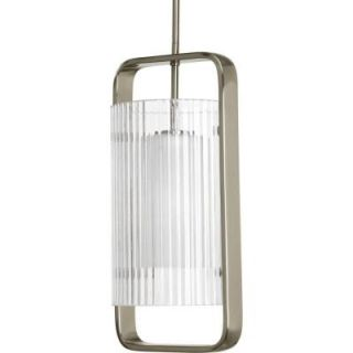 Progress Lighting Coupe Collection 1 light Brushed Nickel Hanging Lantern P6515 09EE
