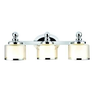 Hampton Bay Levan Collection 3 Light Chrome Vanity Sconce 173353 15