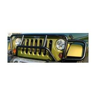 Wrangler Jeep Wrangler One Piece Grill/Brush Guard Black Grille Guards